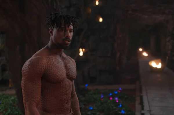 Cerita di Balik Tubuh Penuh Luka Michael B. Jordan Black Panther