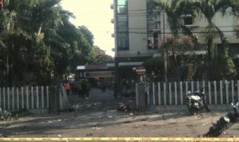 Pengebom Bunuh Diri di Santa Maria Diduga Gunakan Motor