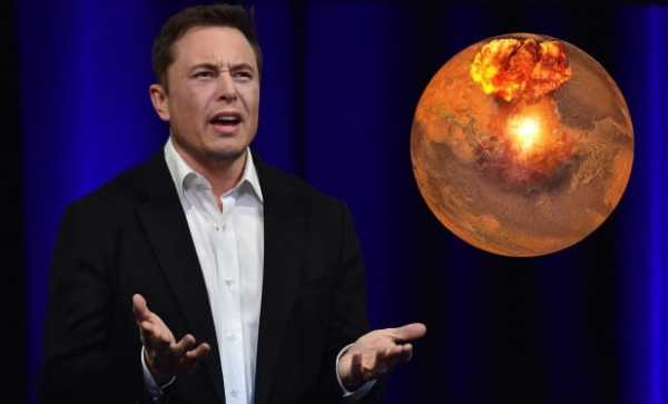 Waduh! Elon Musk Mau Serang Mars Pakai Bom Nuklir