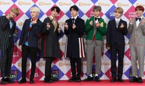 BTS Raih Penghargaan Boyband Terbaik