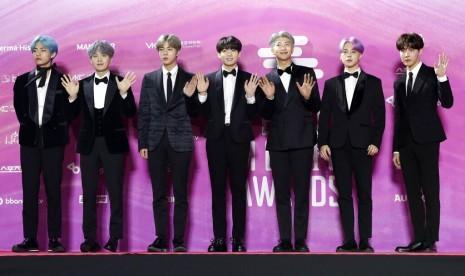Ketegangan Korea Jepang tak Batalkan Konser BTS