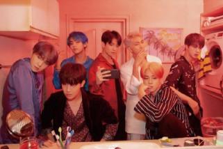 BTS tampil serba hitam di Grammy 2019