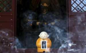 Ada Robot Biksu di Kuil Ini, Apa Tugasnya?