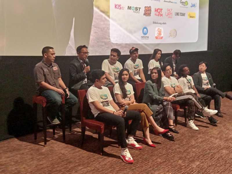 Dianggap Perkuat Kesatuan,Momen Asian Games 2018 Masuk dalam Film Bumi Itu Bulat