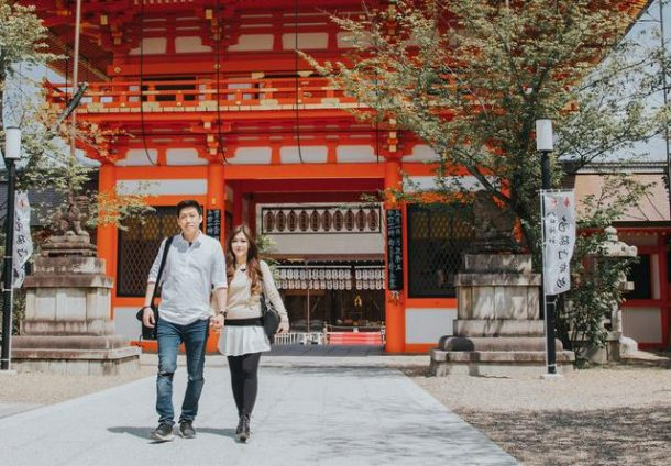 Buruan Cari Jodoh! Ini 4 Panduan Travelling ke Kyoto Bareng Pasangan