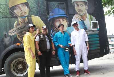 Ngamen di Bus, Tora Sudiro Disindir Soal Narkoba