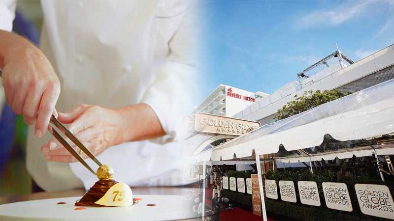 Super Mewah, Ini Sajian Makan Malam Golden Globe ke-75 di Los Angeles