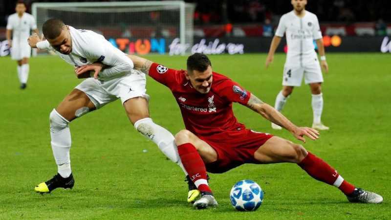PSG Menang 2-1 atas Liverpool di Liga Champions
