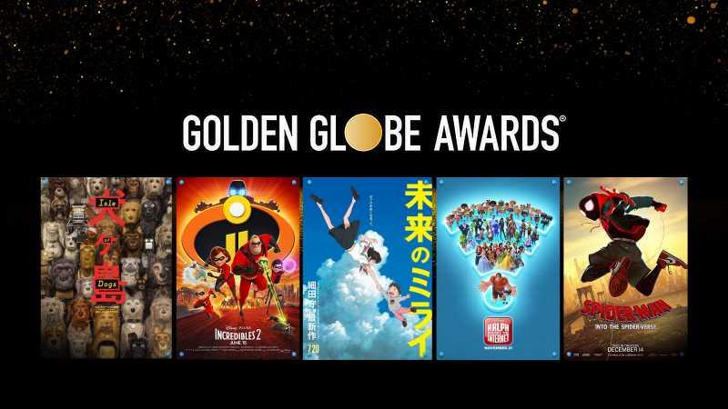 5 Film Animasi yang Bersaing di Golden Globes 2019
