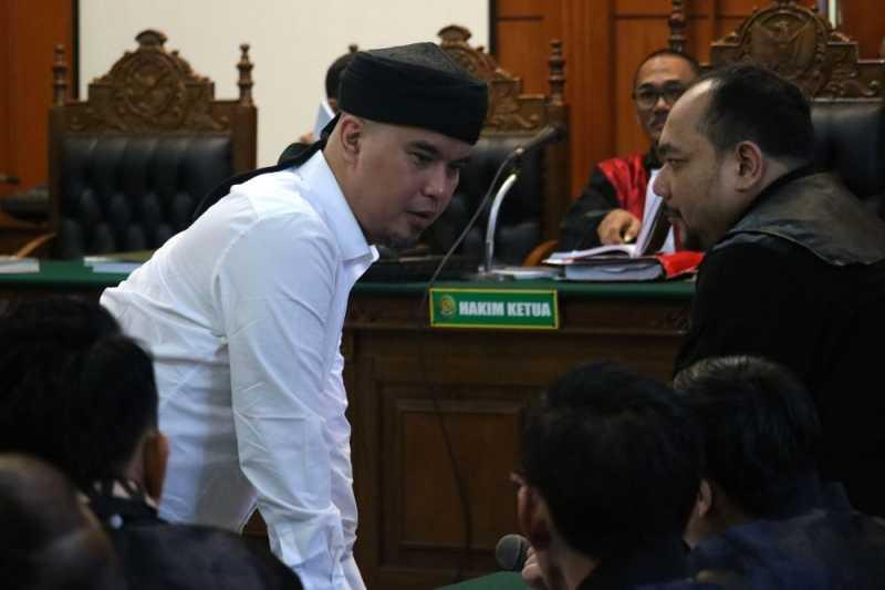Ahmad Dhani Minta Dikembalikan ke Rutan Cipinang