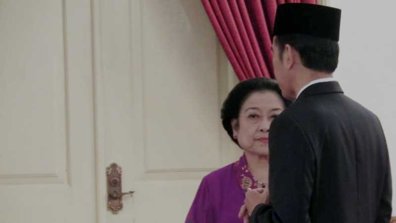 Perbincangan Serius Jokowi-Mega di Istana