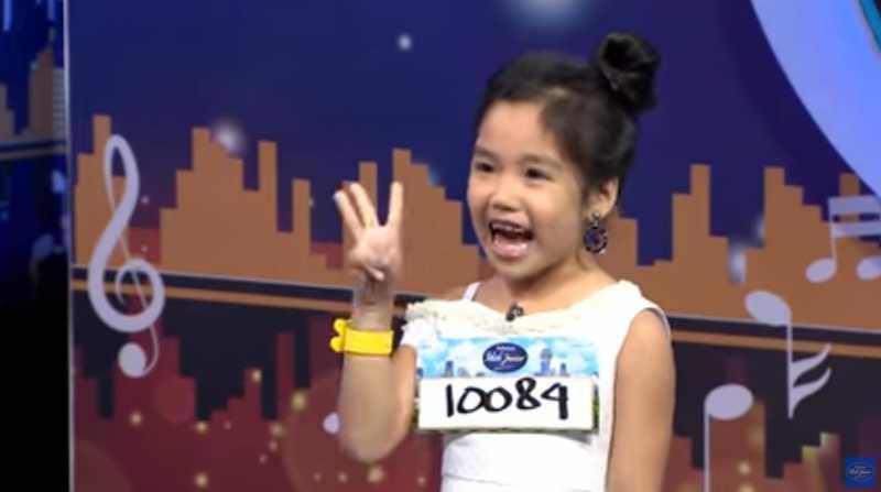 Aksi Glory, Rocker Cilik yang Membuat Para Juri Idol Junior Tertawa