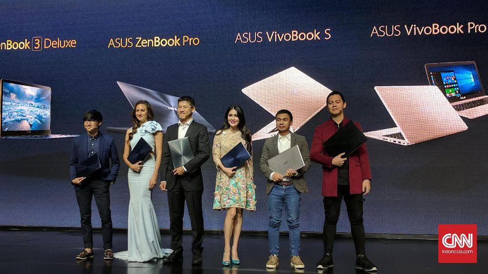 Asus Gelontorkan Enam Laptop Premium