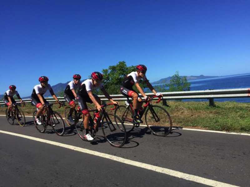 Pembalap Australia Jadi Juara Etape I Tour de Flores 2017