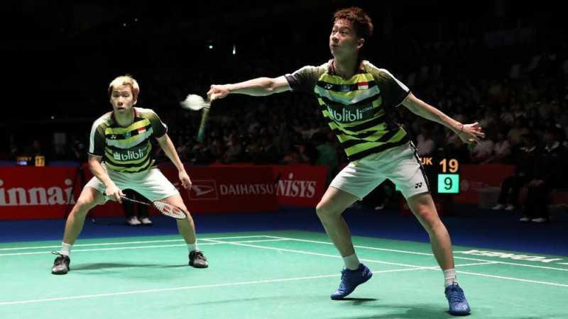 Kevin/Marcus ke Perempat Final Hong Kong Terbuka 2018
