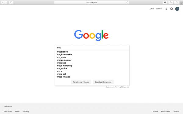 Ini Dia Sosok yang Paling Banyak Dicari di Google pada 2018