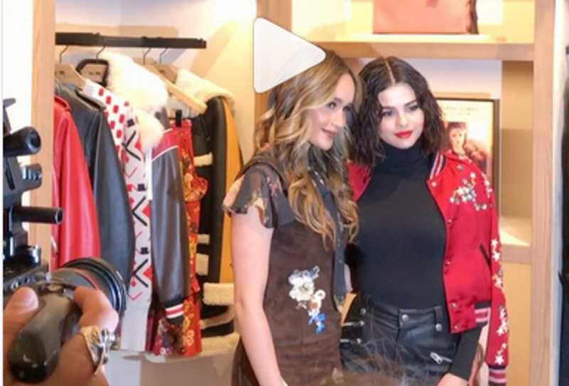 Setelah NYFW, Cinta Laura dan Selena Gomez Bertemu di Butik Coach