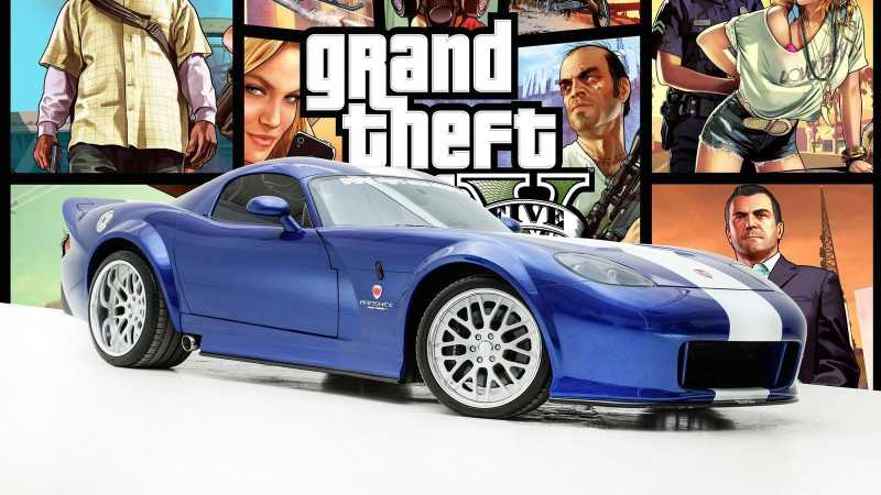 Dilelang, Mobil Banshee dari Game GTA San Andreas
