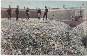 Tumpukan Tulang Manusia di Havana