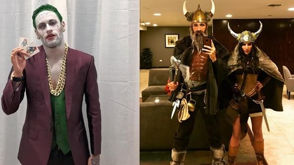 Dari Joker Hingga Viking, Kostum Halloween Para Atlet Dunia