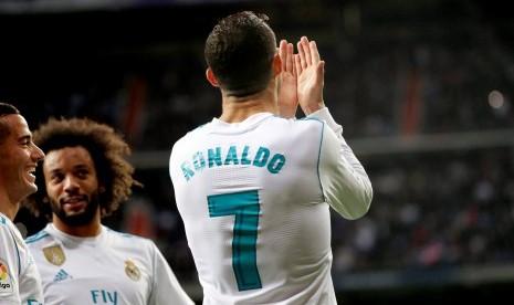 Gol Ronaldo Bawa Madrid Kalahkan Malaga