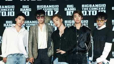 Big Bang Jawab Kerinduan Fans dengan Konser Comeback saat Tahun Baru