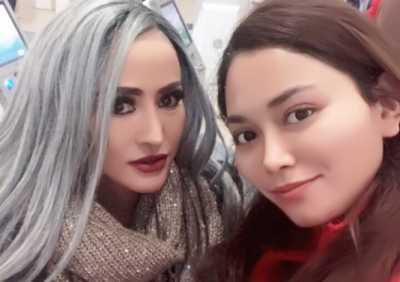 Lepas Hijab, Cynthiara Alona Kini Berambut Perak