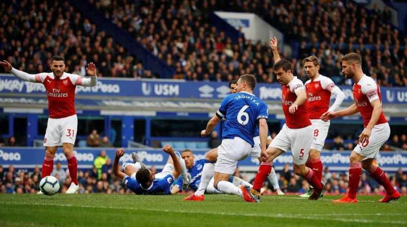 6 Fakta Unik Kekalahan Arsenal dari Everton di Liga Inggris