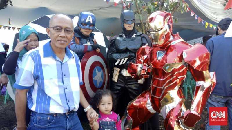 Iron Man, Batman, dan Captain America Diterjunkan Jaga TPS
