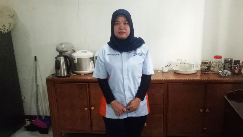 Kejutan Ultah dari Ahok untuk Indah, Pegawai Dapur Pemprov DKI