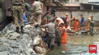 Diperbaiki, Tanggul Jati Padang Siap Hadapi Hujan Deras