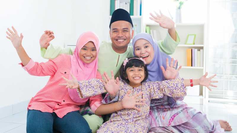 4 Cara Abadikan Momen Lebaran Keluarga