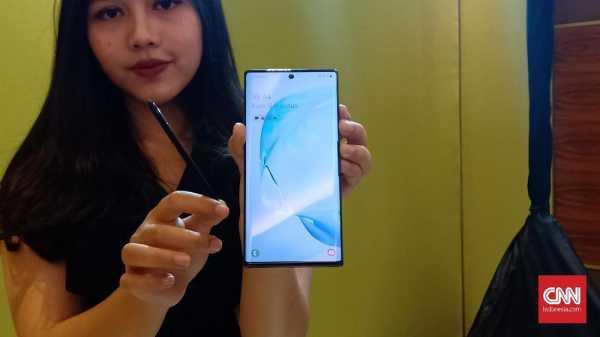 Samsung Sebut Terbentur Proses Boyong Galaxy Note 10 Plus 5G