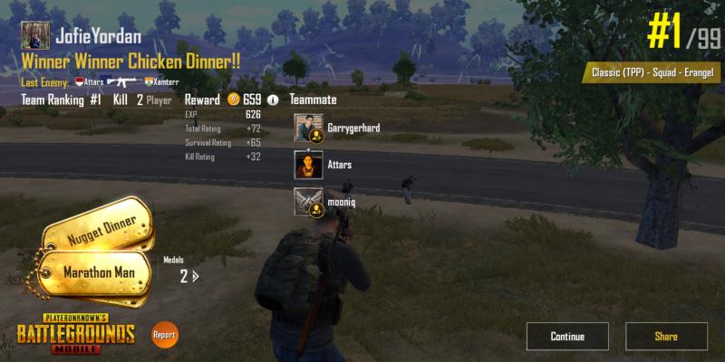 Asal Muasal Winner Winner Chicken Dinner di Game PUBG