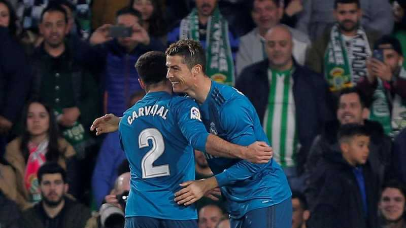 Carvajal: Ronaldo Bukan Pemain Terhebat di Real Madrid