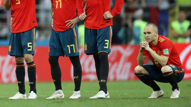Andres Iniesta Tutup Kariernya dengan Timnas Spanyol