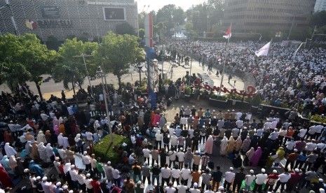 Kericuhan Pecah Saat Massa Aksi 22 Mei Bubarkan Diri