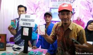 Lini Bell, Pendeteksi Gempa Bumi Karya Agus Obrek Warga Cipeundeuy