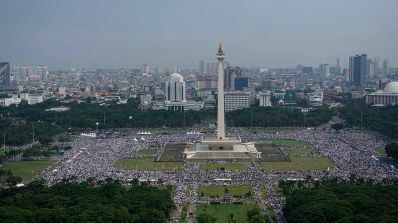 #ReuniAkbar212diMonas Jadi Trending Topic di Twitter Indonesia