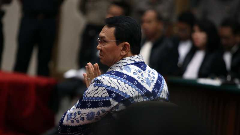 Isi Surat Ahok yang Dititipkan untuk Hakim dalam Sidang Cerai