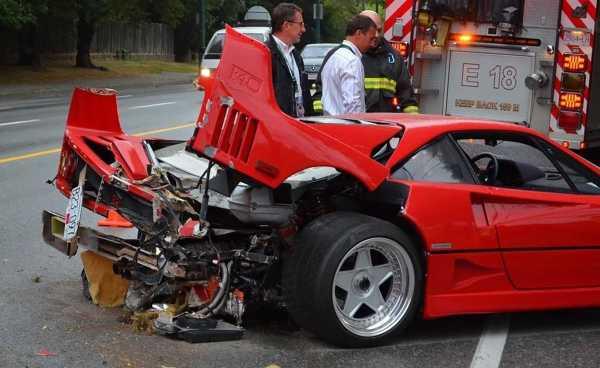 Saking Mahalnya, Asuransi Tak Sanggup Biayai Perbaikan Ferrari F40