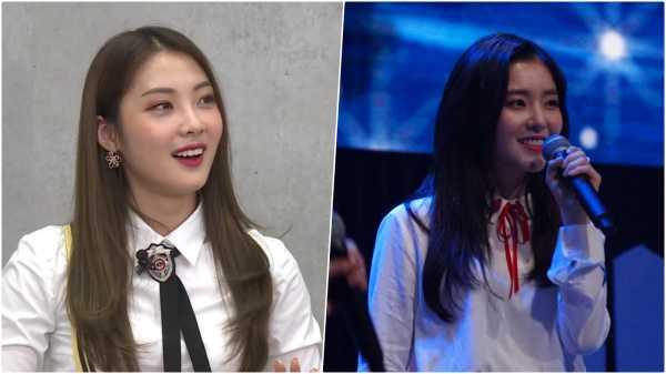 Lucy Weki Meki Jelaskan Alasannya Berteriak Pada Irene Red Velvet