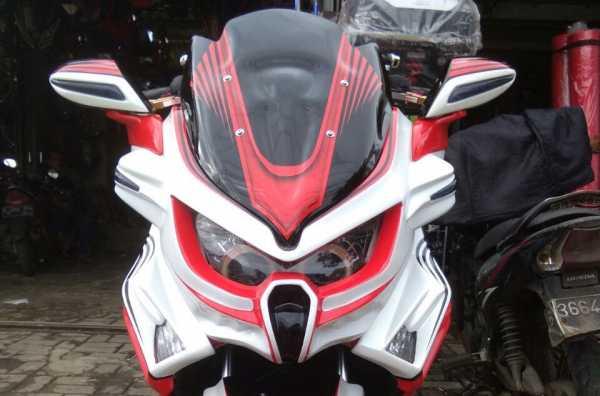 Rombak Yamaha NMax ala Predator dengan Modal Rp 4 Juta