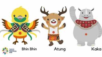 Yuk, Kenalan Lebih Dekat dengan 3 Maskot Asian Games 2018!
