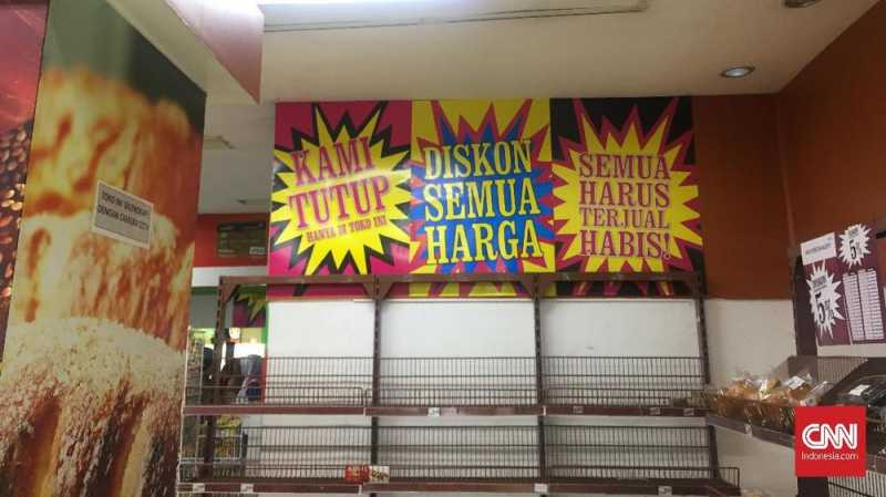 Cuci Gudang, Giant Bakal Tutup Toko per 28 Juli