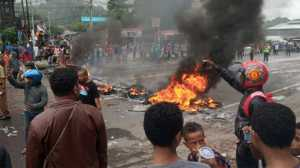 Hoaks Warnai Kerusuhan di Papua