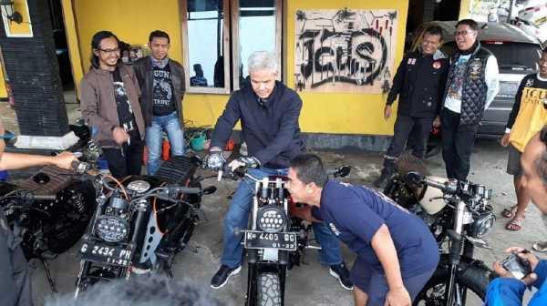 Modif Moge Kawasaki ER-6n Ganjar Pranowo Bikin Grogi