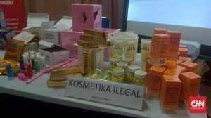 Setahun, BPOM Sita Kosmetik Ilegal Senilai Total Rp136 Miliar