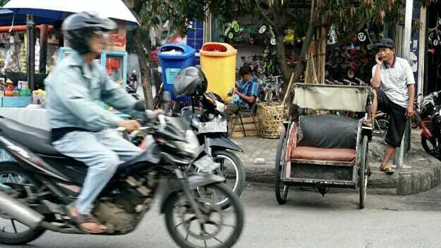 Ojek Online Hingga Becak, Mana yang Jadi Pilihan Siswa SMA Jakarta?