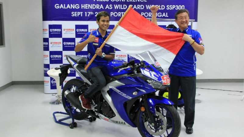 Yamaha Sebut Galang Hendra Bisa Tampil di MotoGP Indonesia